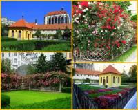 Jak se jmenuje historická zahrada na fotografii č.4? (náhled)
