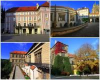 Historická budova na fotografii č.8, která patří k turisticky nejnavštěvovanějším objektům v areálu Pražského hradu se jmenuje: (náhled)