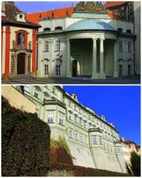 Ve kterém paláci v areálu Pražského hradu byl zřízen Ústav šlechtičen na obrázku č.10? (náhled)
