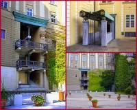 Co spojuje na fotografii č.8 hradní nádvoří s jednou ze zahrad v areálu Pražského hradu?  (náhled)