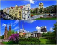Jak se jmenuje významná pražská čtvrť, ve které jsou převážně novorenesanční a secesní nájemní domy a stavby na obrázku č.4? (náhled)
