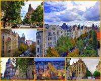 Jak se jmenuje jedna z nejvýznamnějších ulic v Praze, kterou vidíte na obrázku č.14? (náhled)