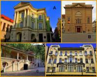 Označte památky Prahy na fotografii č.1, které jsou z období KLASICISMU: (náhled)