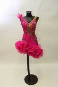 K taneční soutěži SD neodmyslitelně patří i krásné taneční kostýmy. Na obrázku č.22 je jeden z nich. Která tanečnice tančila v těchto šatech? (náhled)