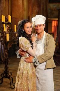 """Jsou na fotografii č.15 princezna Verunka a kuchař Ondra z filmové pohádky """"Jak chutná láska""""? (náhled)"""