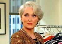 """Je na obrázku č.10 šéfredaktorka prestižního módního časopisu Runway a nejmocnější a nejvlivnější žena módního průmyslu v New Yorku Miranda Priestlyová z filmu """"Ďábel nosí Pradu""""? (náhled)"""
