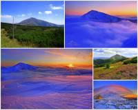 Jak se jmenuje hora na obrázku č.2? (náhled)