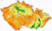Území, která mají nadmořskou výšku do 200 metrů, se nazývají nížiny nebo úvaly. Většinou se rozkládají podél řek a patří k nejúrodnějším místům ČR. Která nížina je označena č.2? – obrázek č.6a (náhled)