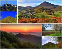 Hora na fotografii č.15 je nejvyšší horou pohoří, ve kterém je dominantou. Na vrcholu hory se nachází meteorologická stanice a rozhledna, ze které je krásný výhled na okolní i vzdálenější krajinu. Přestože je hora považována za největrnější horu ČR (bezvětří je tu jen 8 dní v roce) je turisticky atraktivní lokalitou. Jak se hora jmenuje?  (náhled)
