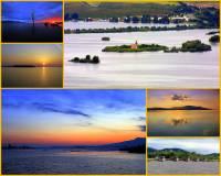 """Jaký název má kaskáda 3 přehradních nádrží pod Pavlovskými vrchy na obrázku č.1, které se také říká """"podpálavské moře""""? (náhled)"""