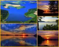Jak se jmenuje 2. největší rybník v ČR na fotografii č.6, který se rozkládá nedaleko zámku Hluboká a zaujímá 1. místo v produkci ryb, hlavně kaprů? (náhled)