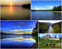 Jak se jmenuje rybník na obrázku č.11, ze kterého vytéká řeka Sázava? (náhled)
