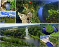 Jak se jmenuje jedna z nejvýznamnějších řek ČR na fotografii č.12, která pramení na území národního parku, protéká historickými městy a bylo na ní vybudováno několik vodních nádrží? Je přítokem další významné řeky ČR. (náhled)