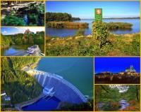 Řeka na fotografii č.16 pramení na území ČR, byly na ní vybudovány 2 vodní nádrže, 2. poblíž jednoho z největších měst ČR. Tímto městem protéká, dále protéká úrodnou nížinou. Na dolním toku do řeky ústí několik významných přítoků. Řeka je největším přítokem jedné z významných řek ČR. Ústí do jedné z přehradních nádrží kaskády, která byla na řece vybudována. Jak se řeka jmenuje? (náhled)