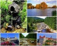 Jak se jmenuje řeka na obrázku č.19, která pramení na území ČR, protéká kamenitým korytem národní přírodní rezervací, několika městy a je přítokem jedné z nejvýznamnějších řek ČR?  (náhled)