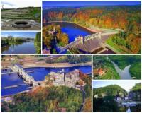 Řeka na fotografii č.8 je jednou z nejvýznamnějších řek v ČR. Pramení na našem území, protéká významnými městy i úrodnou nížinou, na severu ČR opouští naše území a její tok pokračuje na území našich severních sousedů, kde se z ní stává jedna z největších řek a vodních cest Evropy. Ústí do moře. Řeka se jmenuje: (náhled)