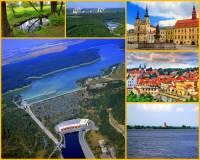 Jak se jmenuje řeka pramenící na území ČR, jejíž tok je znázorněn na obrázku č.9? Protéká 2 velkými městy, byla na ní vybudována vodní nádrž a ústí do jiné velké vodní nádrže. (náhled)