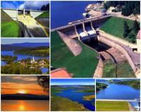 Která přehradní nádrž je na obrázku č.1? (náhled)