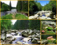 Jak se jmenuje přírodní památka na obrázku č.17, která je jednou z nejkrásnějších a nejnavštěvovanějších oblastí Národního parku Šumava? (náhled)
