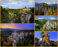 Jak se jmenuje přírodní rezervace na fotografii č.7, která patří k největším skalním městům v Chráněné krajinné oblasti Český ráj? (náhled)