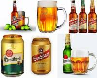 """Které město se proslavilo výrobou piva značky """"Prazdroj"""" a """"Gambrinus"""" na obrázku č.1? (náhled)"""