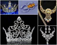 Které město v ČR se stalo světoznámým výrobou originální skleněné a kovové bižuterie na fotografii č.8? Mezi originální výrobky se řadí i korunky, které zdobí královny krásy po celém světě. (náhled)