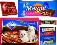 """Ve kterém městě se v současné době vyrábějí čokoládové výrobky značky """"Orion"""" na obrázku č.11? (náhled)"""