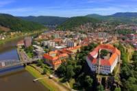 Které město ležící na řece Labi je na fotografii č.1? (náhled)