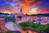 Které město ležící na řece Vltavě je na fotografii č.2? (náhled)