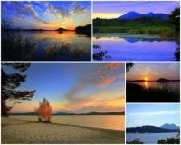 Ve kterém kraji v ČR se nachází rybník Máchovo jezero na fotografii č.18? (náhled)