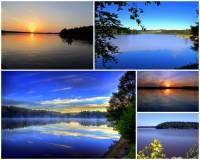 Ve kterém kraji v ČR se rozkládá rybník Velké Dářko na fotografii č.19? (náhled)