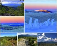 Na území kterých krajů ČR se rozkládá pohoří Hrubý Jeseník na fotografii č.5? (náhled)