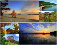 Přírodní oblast v ČR na fotografii č.13 tvoří romantický kraj, který učaroval jedné z našich významných literárních osobností, po které dostal název. Jak se oblast jmenuje? (náhled)