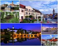 Jak se jmenuje oblast, která byla historickým správním územím českého království a kterou charakterizuje zřícenina hradu a města na fotografii č.5? (náhled)