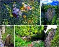 Jak se jmenuje chráněná krajinná oblast na fotografii č.6, na jejímž území se nachází propast Macocha? (náhled)