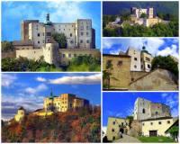 Jak se jmenuje majestátní královský hrad na obrázku č.7, který je jedním z nejstarších a nejzachovalejších hradů v ČR? Je unikátním hradem se zachovalými stavebními prvky od 1. poloviny 13. století až po 17. století., kdy v tomto období docházelo k architektonickým úpravám a přestavbám. Unikátnost hradu spočívá především v tom, že na jediné stavbě lze současně vidět  jak se strohý gotický královský hrad a nikdy nedobytá pevnost postupem let přeměnily v pohodlné renesanční panské sídlo. (náhled)