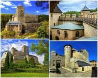 Jak se jmenuje jeden z turisticky nejnavštěvovanějších a nejzachovalejších gotických hradů v ČR na fotografii č.11? (náhled)