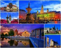 Které historické město je na fotografii č.4? (náhled)