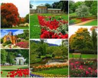 Na fotografii č.16 jsou lázeňské parky lázeňského města: (náhled)