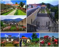 Jak se jmenuje město, ve kterém je romantická zámecká Růžová zahrada na fotografii č.24? (náhled)