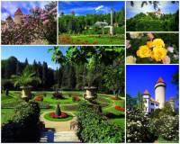 Rozárium a zámecký park na fotografii č.4 si mohou prohlédnout návštěvníci zámku: (náhled)