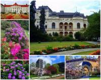 Na obrázku č.5 jsou lázeňské parky lázeňského města: (náhled)