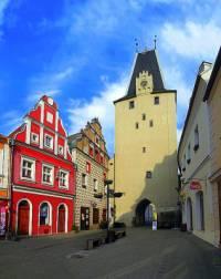 Historická stavba na obrázku č.21 se jmenuje a nachází se ve městě: (náhled)