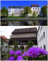 Na fotografii č.7 se nachází historická stavba, která patří k dominantám města:  (náhled)
