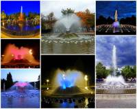 Zpívající fontána na fotografii č.8 je symbolem města: (náhled)