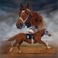 Kolik váži srdce slavného dostihového koně Secretariata (náhled)