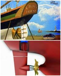 Jak se jmenuje vynálezce lodního šroubu na obrázku č.7? (náhled)