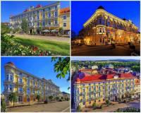 Jak se jmenuje a ve kterém městě se nachází reprezentativní historická stavba na fotografii č.4? (náhled)
