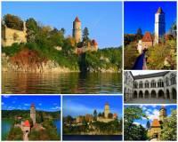 Který hrad je na obrázku č.1?  (náhled)