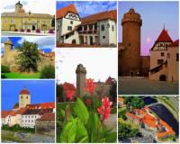 Ve kterém městě je hrad na obrázku č.9?  (náhled)